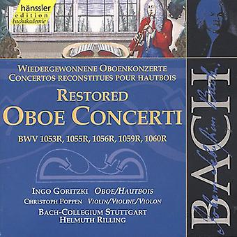 J.S. Bach - Bach: Restored Oboe Concerti [CD] USA import