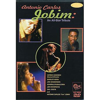 Jobim, Antonio Carlos - All-Star hyldest [DVD] USA import