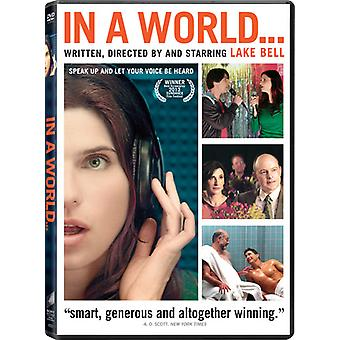 In a World [DVD] USA import