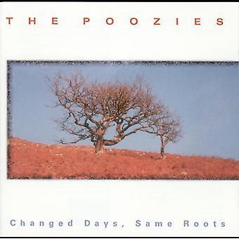 Poozies - ændrede dage samme rødder [CD] USA importerer