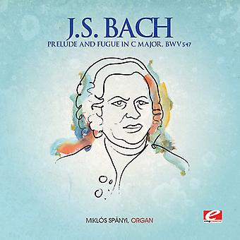 J.S. Bach - Prelude & Fugue in C Major [CD] USA import
