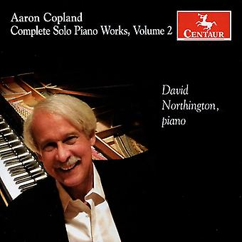 A. Copland - Aaron Copland: Complete Solo Piano Works, Vol. 2 [CD] USA import