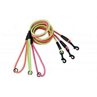 Hurtta Nubuck Round Leash Nickel (Dogs , Walking Accessories , Leads)