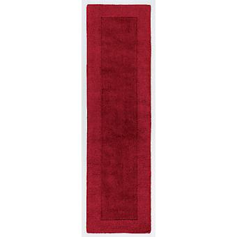 Red skåret ull Runner teppe - Tuscany