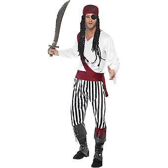 Pirata pirata Costume uomo pirati 4 pirati