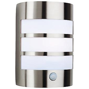 Firstlight Stainless Steel Wall Light With PIR