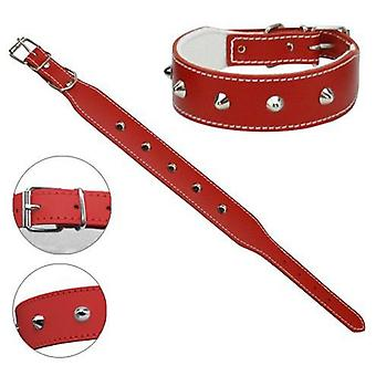 Petpall Collar Bulldog Frances 50 Cm Rojo (Dogs , Collars, Leads and Harnesses , Collars)