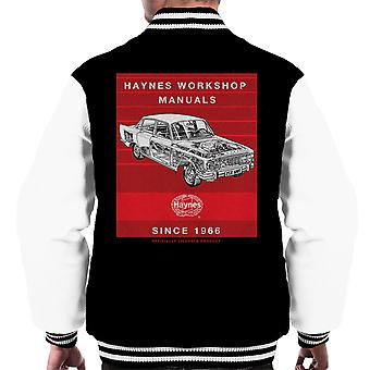 Haynes Workshop Manual 0025 Ford Zodiac Streifen Varsity Jacke Herren