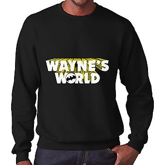 Batman Waynes World Men's Sweatshirt