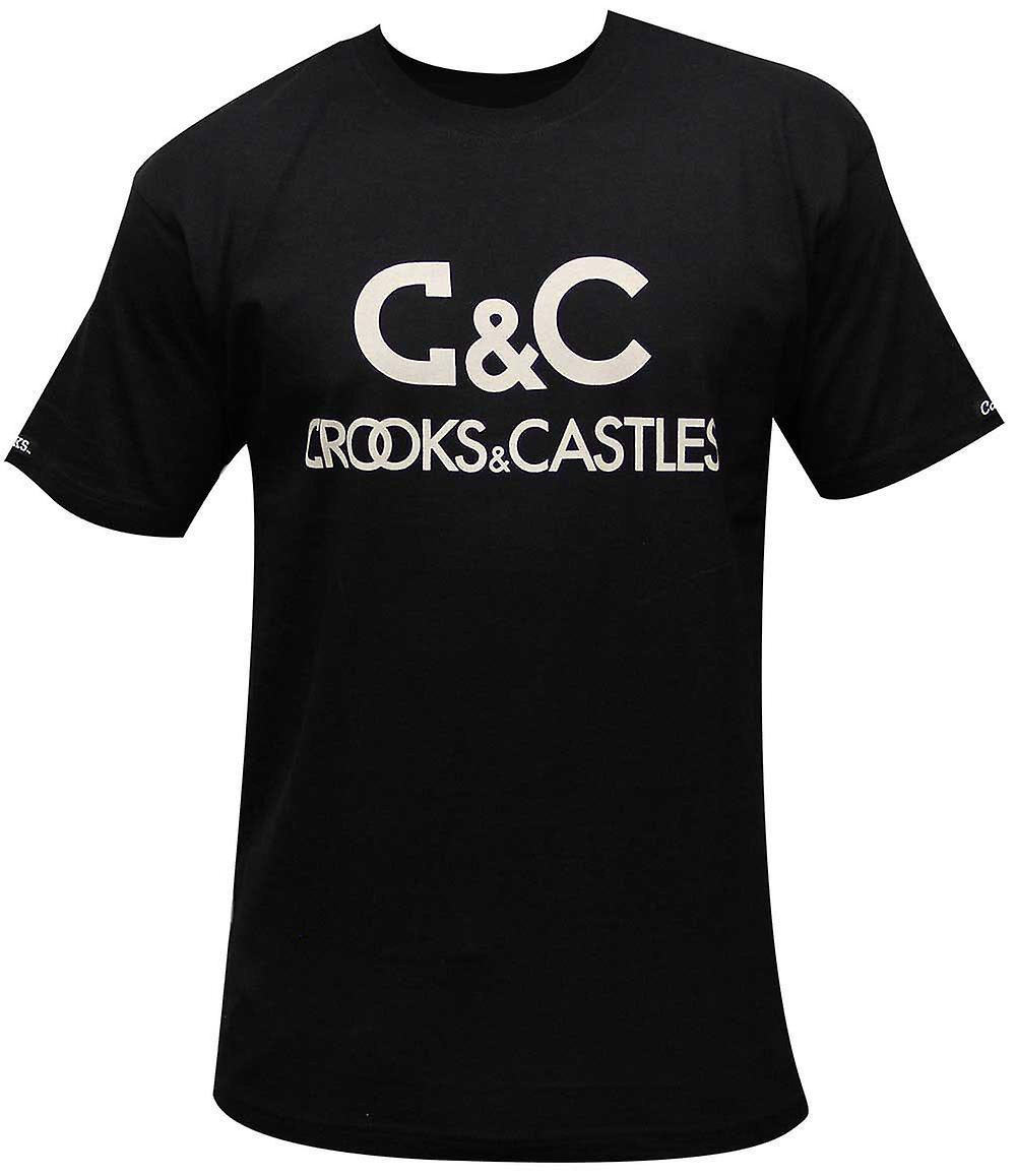 Crooks & Castles Regal T-Shirt Black