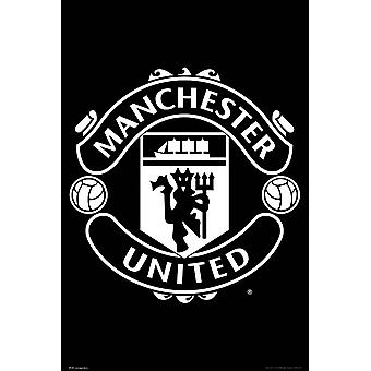 Manchester United Crest 17/18 Maxi Poster
