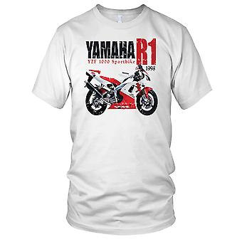 Yamaha YZF R1 Superbike Herre T-shirt