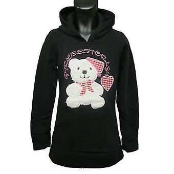 Girls Hoodies Fleece Jumper Teddy