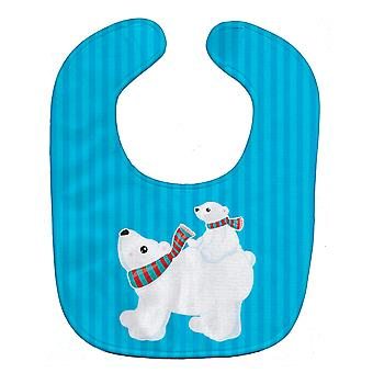 Carolines Treasures  BB8982BIB Polar Bears Baby Bib