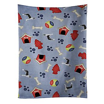 Dog House Collection Mantle Cropped Great Dane Kitchen Towel