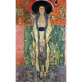 Adele Bloch-Bauer II 1912 Poster trykk av Gustav Klimt