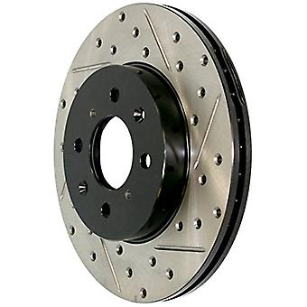 StopTech 127.37031R Sport Drilled/Slotted Brake Rotor (Rear Right), 1 Pack