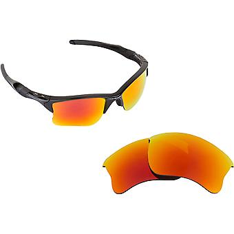 Half Jacket 2.0 XL Replacement Lenses Red Mirror by SEEK fits OAKLEY Sunglasses