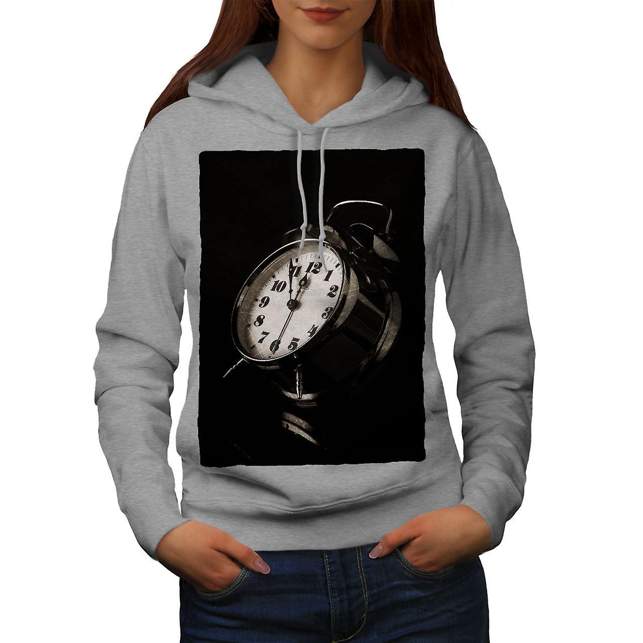 Horloge ancienne femmes Funky grisHoodie