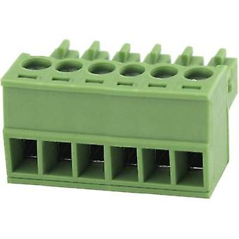 Pin enclosure - cable Total number of pins 12 Degson 15EDGK-3.81-12P-14-00AH Contact spacing: 3.81 mm 1 pc(s)