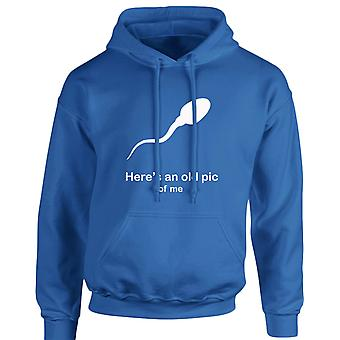 Here's An Old Pic Of Me Funny Unisex Hoodie 10 Colours (S-5XL) by swagwear