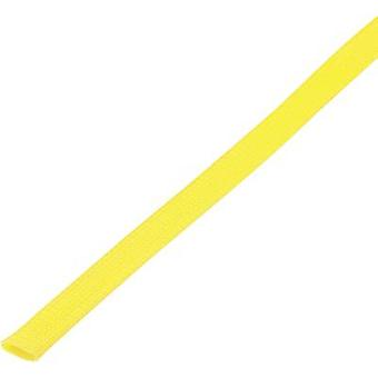 Braided hose Yellow PET 25 up to 34 mm Conrad Components