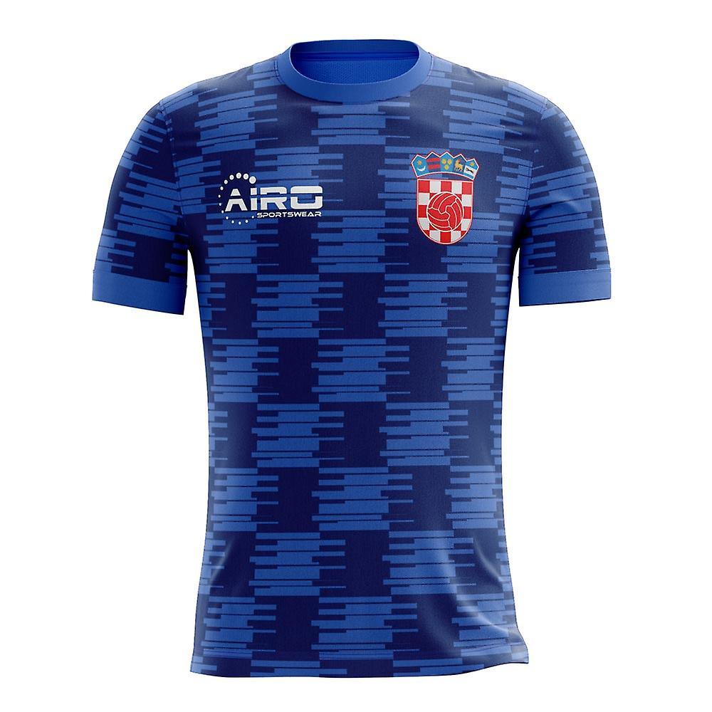 ba0d6b763d57c 2018-2019 Croacia concepto lejos camiseta de fútbol