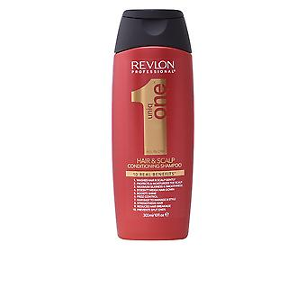 Revlon Uniq One All In One Hair And Scalp Conditioning Shampoo 300ml Unisex New