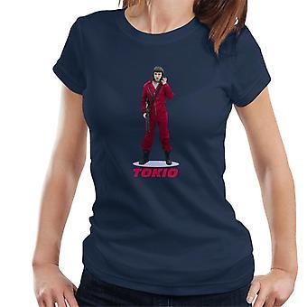 Geld Heist Casa De Papel Tokio Damen T-Shirt
