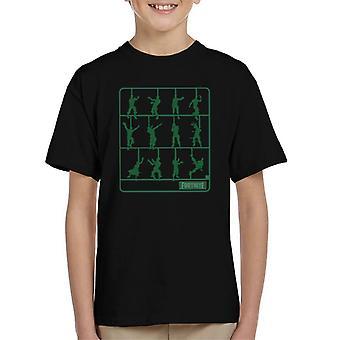 Pasos de baile Fortnite camiseta Air Fix infantil
