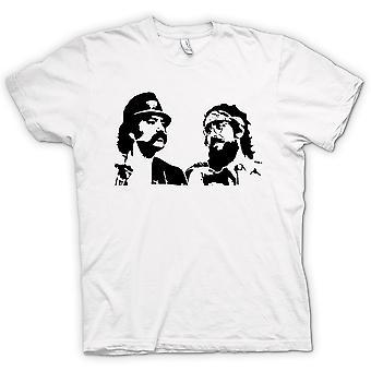 Mens T-shirt - Cheech And Chong - Comedy Retro