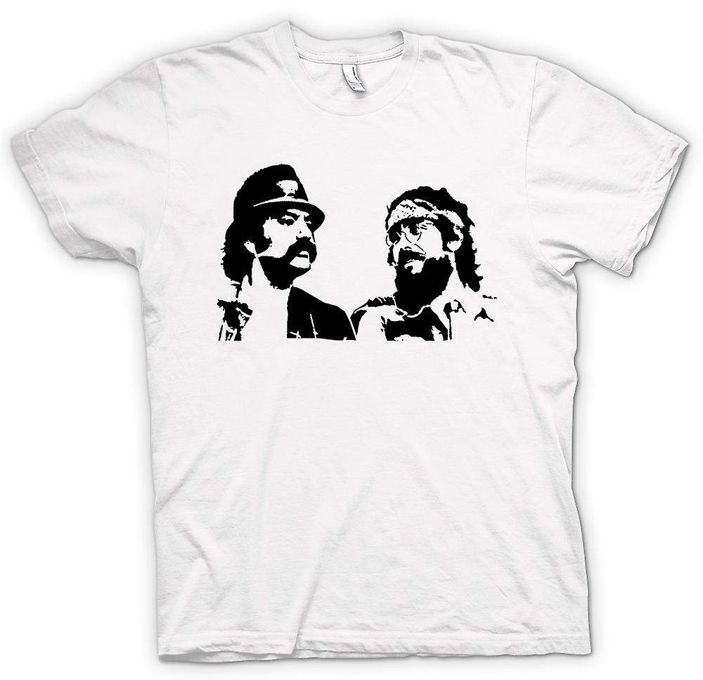 Mens T-shirt - Cheech und Chong - Comedy Retro