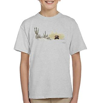 Dodge Truck Dusty Road Kid's T-Shirt