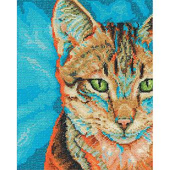 Tabby Counted Cross Stitch Kit-8