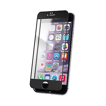 XQISIT Screen Glass Edge To Edge for iPhone 6/6s black