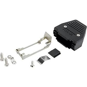 D-SUB housing Number of pins: 15 Plastic 180 ° Black Conec 165X11289XE 1 pc(s)