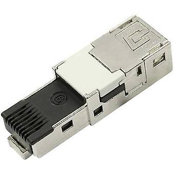 STX V 1 RJ45 cat.6 de inserto de enchufe enchufe, recta número de pernos: 8P8C J80026A0004 Telegärtner J80026A0004 1 PC