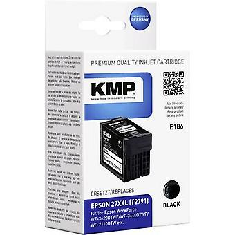 KMP Ink replaced Epson T2791, 27XXL Compatible Black E186 1627,4201
