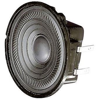 Visaton K 50 WP 2 5 cm Wideband luidspreker chassis 2 W 50 Ω