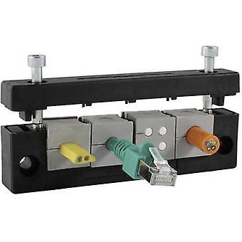 Routeur Icotek KEL-E3 câble Terminal Ø (max.) 17 mm Polyamide noir 1 PC (s)