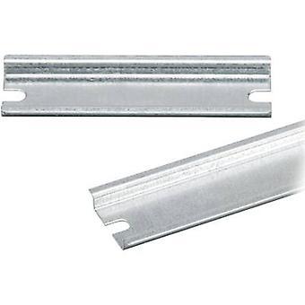 Fibox EURONORD brazo 0808 DIN no rail agujeros acero placa 65 mm 1 PC