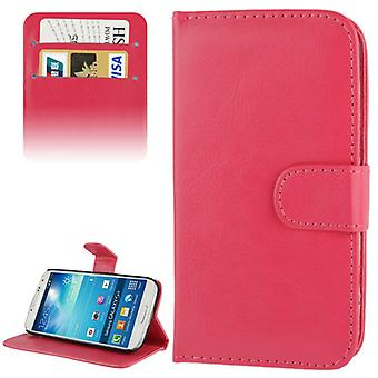 Cover cell phone case (flip cross) for mobile Samsung Galaxy S4 mini i9190 i9195