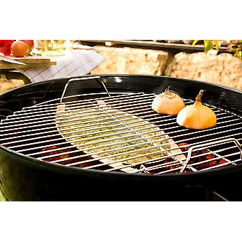 Grill and aroma shell aromatic indirect grilling fish meat poultry