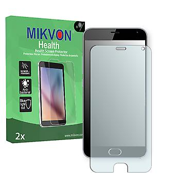 Meizu M2 Note Screen Protector - Mikvon Health (Retail Package with accessories)