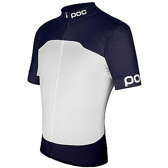 POC Navy Black-Hydrogen White 2017 Raceday Climber Short Sleeved Cycling Jersey