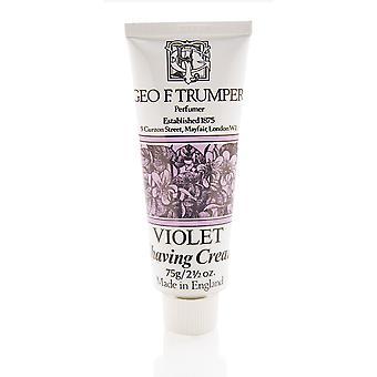 Geo F Trumper Violet Soft Shaving Cream - 75g