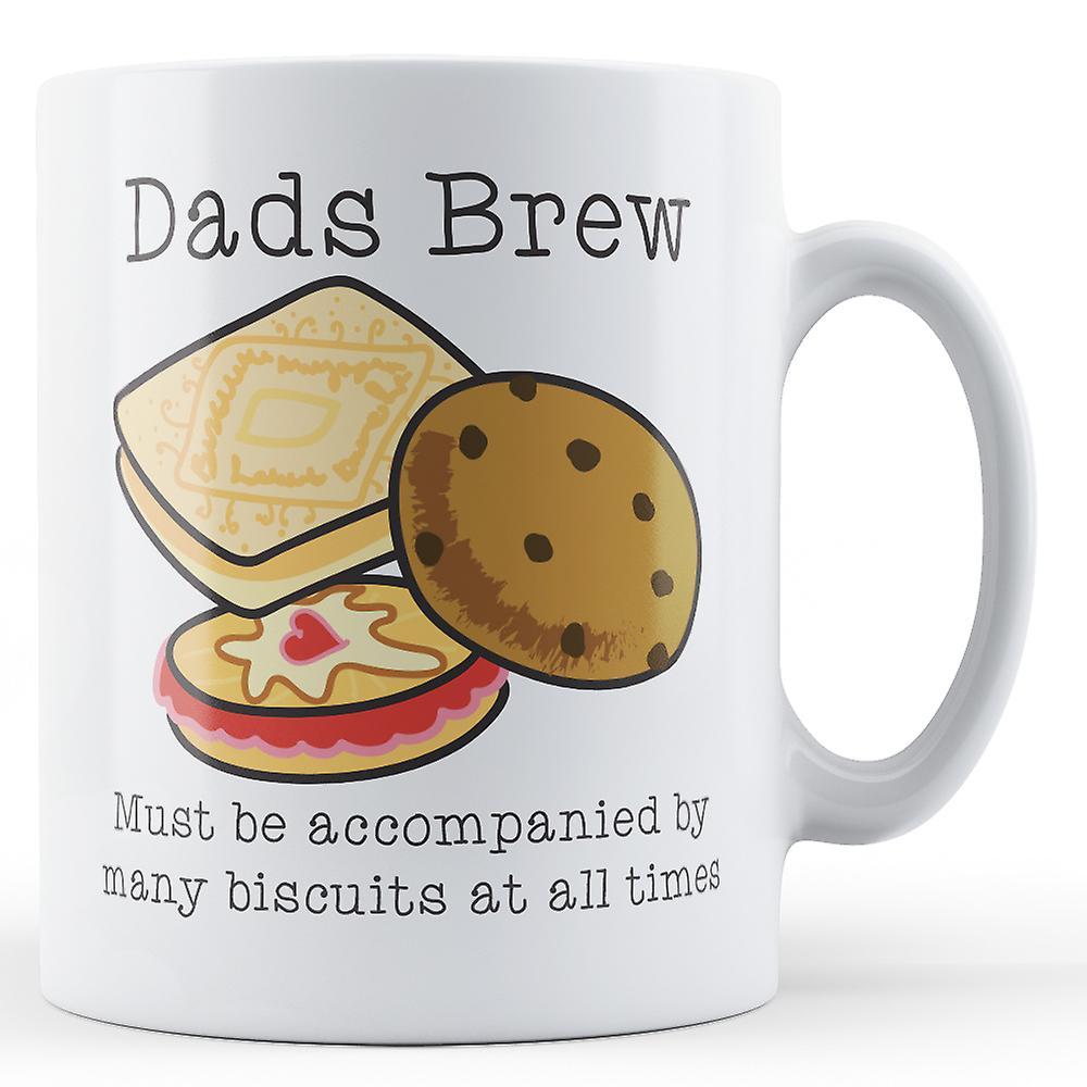 Brew Dads Dads Brew Mug Dads And BiscuitsPrinted And BiscuitsPrinted Mug eDYWHE29I