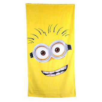 100% cotton Bath Towel minions
