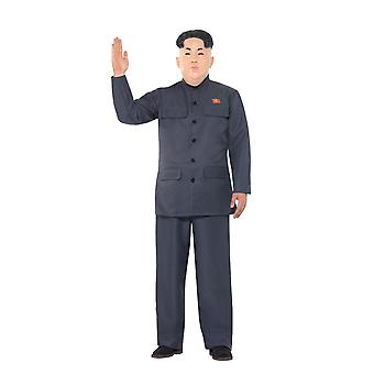 Smiffy's Kim Jong-Un Korean Dictator Costume, Fancy Dress