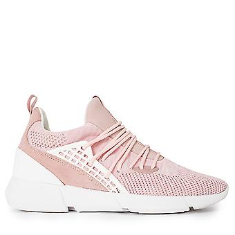 Cortica Rapide Knit 118 Trainers Pink Knit-UK 10